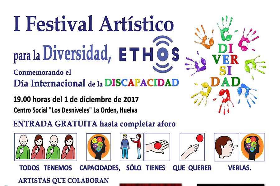 Ortopedia Gordillo te anima participar en el I Festival Artístico para la Diversidad ETHOS