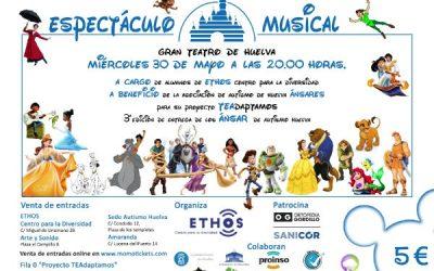 Ortopedia Gordillo patrocina un musical benéfico para dar visibilidad al autismo