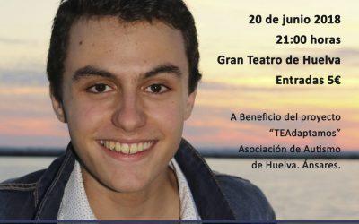 Acompaña a Roberto Álvarez y la Banda Sinfónica Municipal de Huelva en su concierto 'Gracias Sinfónico'