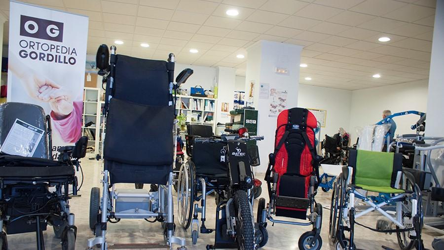 Ortopedia Gordillo: una silla para cada paciente