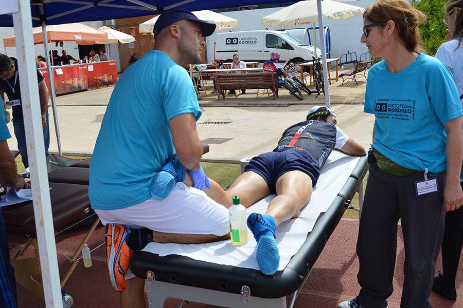 Ortopedia Gordillo fortalecerá el equipo de fisioterapeutas ante el aumento de ciclistas en la 'Huelva Extrema'