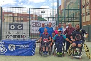 El I Circuito de Pádel Adaptado Ortopedia Gordillo corona a De Anta y Goñi