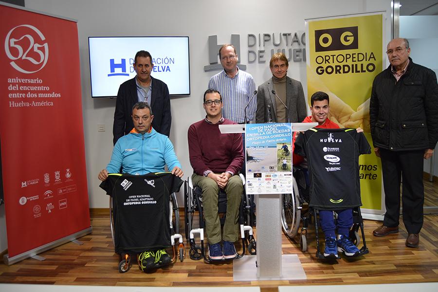 Ortopedia Gordillo favorece la integración de las personas con discapacidad con el I Open Nacional de Pádel en Silla de Ruedas