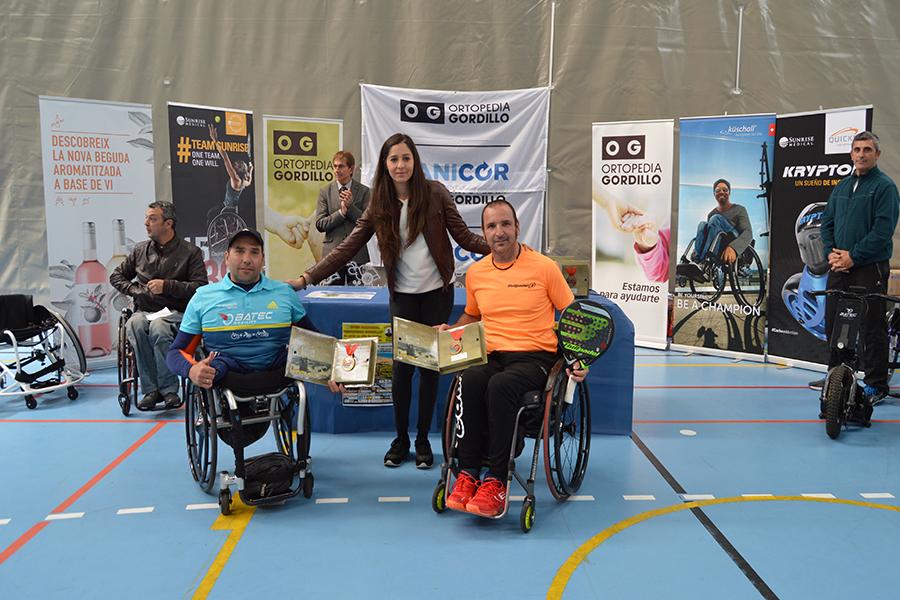 Edorta De Anta y Óscar Agea conquistan el II Open Nacional de Pádel en Silla de Ruedas Ortopedia Gordillo Playas de Punta Umbría