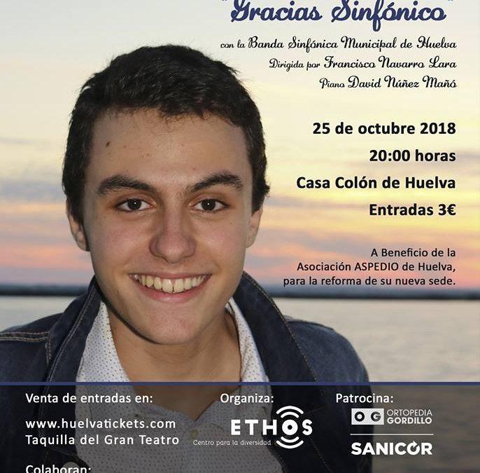 Roberto Álvarez y la Banda Sinfónica de Huelva te esperan en su concierto benéfico 'Gracias Sinfónico'