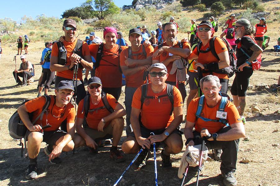 Meritorio segundo puesto del Grupo de Montaña Noveno Grado en la XXIV Travesía Sierra de Grazalema