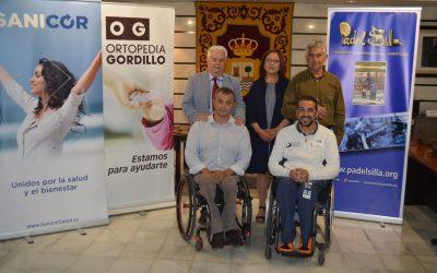 Ortopedia Gordillo-Sanicor Huelva reúne en Punta Umbría a los mejores jugadores regionales en I Open Andaluz de Pádel en Silla