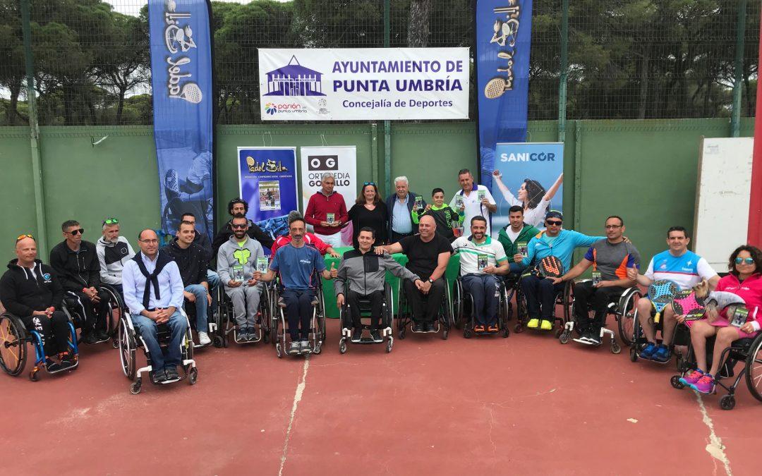 Francisco Bernal y M. Muñoz conquistan el I Open Andaluz de Pádel Adaptado Ortopedia Gordillo-Sanicor Huelva Playas de Punta Umbría