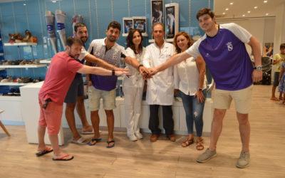 Ortopedia Gordillo-Sanicor Huelva y la Asociación Amigos del Baloncesto de Gibraleón unen sus fuerzas para el fomento de valores