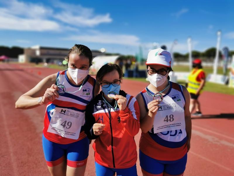 El CODA se proclama campeón absoluto de Andalucía de Atletismo Adaptado en Punta Umbría
